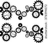 gears concept design  | Shutterstock .eps vector #376594072