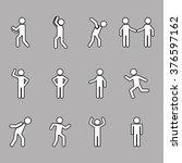 men sign design    Shutterstock .eps vector #376597162