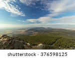 beautiful view from jested... | Shutterstock . vector #376598125
