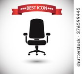 office chair icon vector | Shutterstock .eps vector #376599445