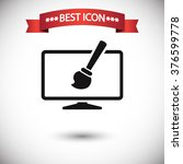 design icon vector | Shutterstock .eps vector #376599778