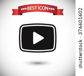 video play icon vector