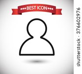user icon vector | Shutterstock .eps vector #376602976