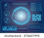 abstract future  concept vector ...   Shutterstock .eps vector #376607995