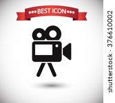 video camera icon vector  video ...