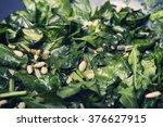 the healthy food   vegetarian... | Shutterstock . vector #376627915