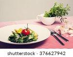 the healthy food   vegetarian... | Shutterstock . vector #376627942