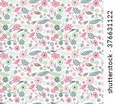 elegant seamless pattern with...   Shutterstock .eps vector #376631122
