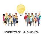business people group idea... | Shutterstock .eps vector #376636396