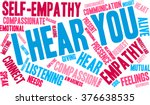 i hear you word cloud on a...   Shutterstock .eps vector #376638535