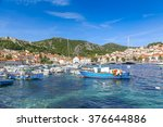 hvar  croatia   june 21  2014 ... | Shutterstock . vector #376644886