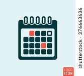 calendar icon. calendar sheet...