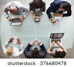 business people diverse... | Shutterstock . vector #376680478