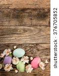 easter background | Shutterstock . vector #376705852