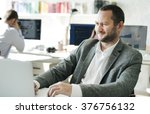cooperation corporate teamwork... | Shutterstock . vector #376756132