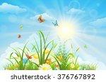 Summer And Spring Landscape ...