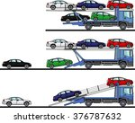 set of detailed illustration of ... | Shutterstock .eps vector #376787632