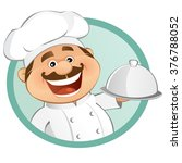 the chef | Shutterstock .eps vector #376788052