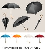 collection of opened  folded ... | Shutterstock .eps vector #376797262
