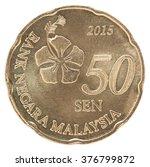 New 50 Malaysia Sen Isolated O...