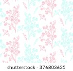 floral seamless background... | Shutterstock .eps vector #376803625