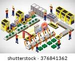 illustration of info graphic... | Shutterstock .eps vector #376841362