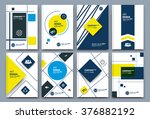 abstract composition  business... | Shutterstock .eps vector #376882192