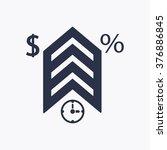 business.icon  vector... | Shutterstock .eps vector #376886845