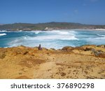red rock  d'entrecasteaux... | Shutterstock . vector #376890298