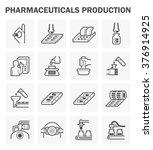 pharmaceutical and supplement... | Shutterstock .eps vector #376914925