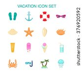 set of 16 colored icons about... | Shutterstock .eps vector #376920592