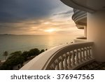 Sea View In Sunset Time