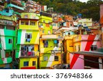 Colorful Painted Buildings Of...