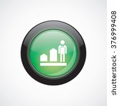 vector man diagram arrow icon | Shutterstock .eps vector #376999408