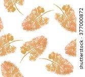 pale orange leaves | Shutterstock . vector #377000872
