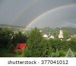 Double Rainbow Over A Small...