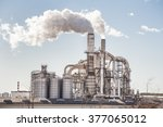 Chemical Plant. Silos And...