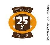 special offer 25  discount....   Shutterstock .eps vector #377075302