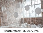 White And Transparent Balloons...