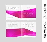 abstract brochure design ... | Shutterstock .eps vector #377088178