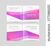 abstract brochure design ... | Shutterstock .eps vector #377088202