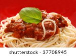 Detail Of Spaghetti With Fresh...