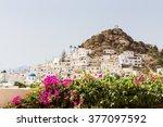 wonderful view of city... | Shutterstock . vector #377097592