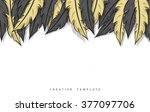template design concept sketch... | Shutterstock . vector #377097706