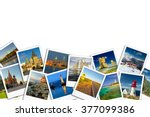 travel concept. photo collage | Shutterstock . vector #377099386
