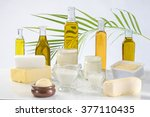 culinary variety of fats | Shutterstock . vector #377110435