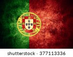 flag of portugal or portuguese... | Shutterstock . vector #377113336