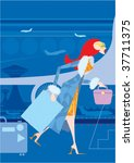 airport | Shutterstock .eps vector #37711375