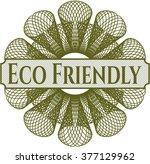 eco friendly abstract rosette | Shutterstock .eps vector #377129962