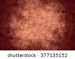 scratched copper texture or... | Shutterstock . vector #377135152